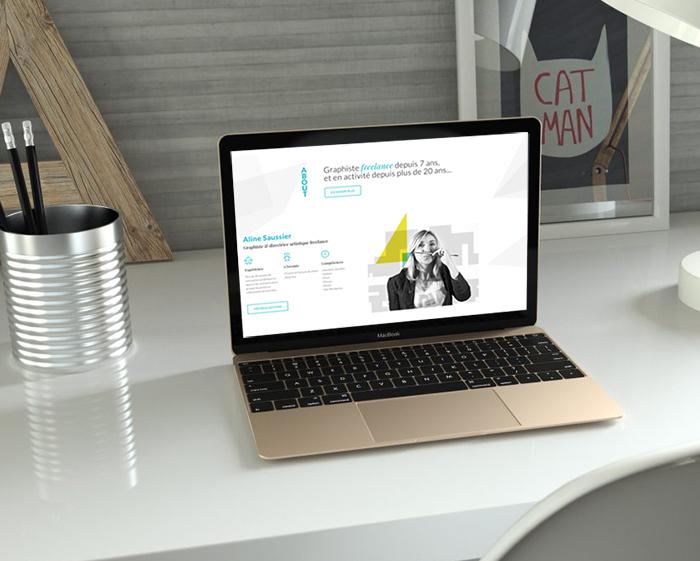 presentation du site graphikalegria.fr