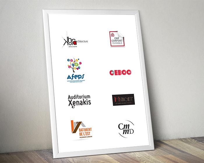 planche de logotypes - references