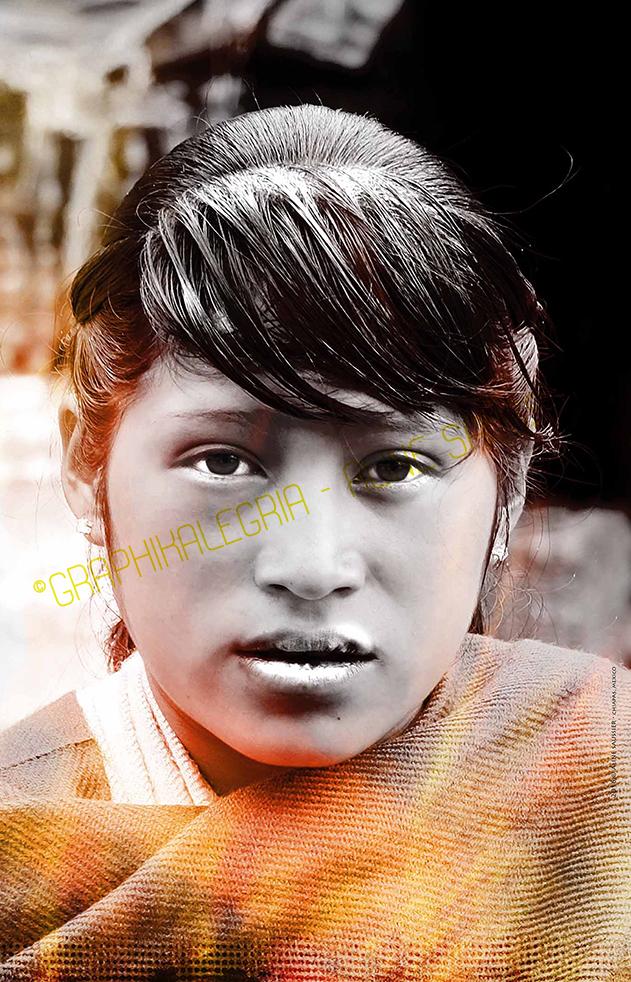 photo jeune femme mexique