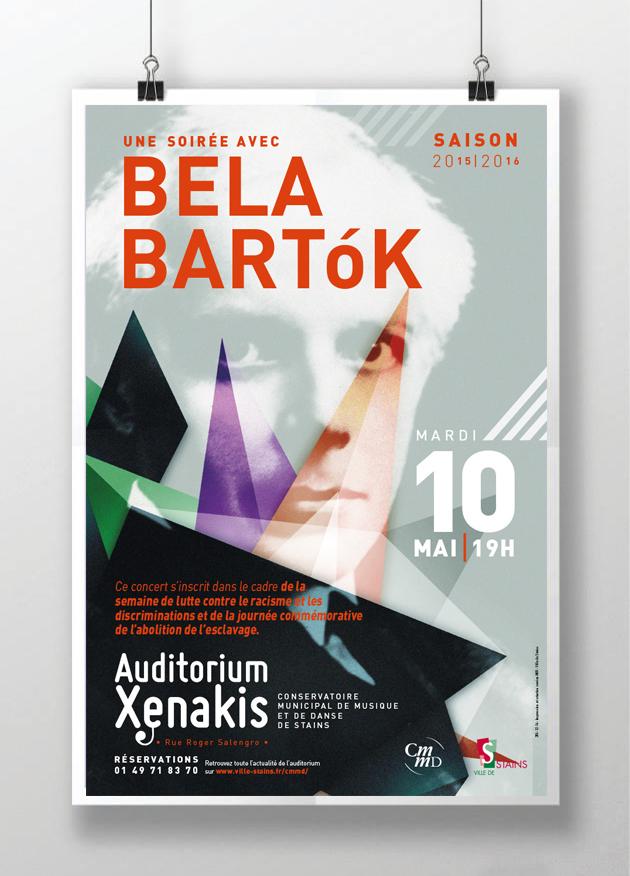 affiche Bela Bartok