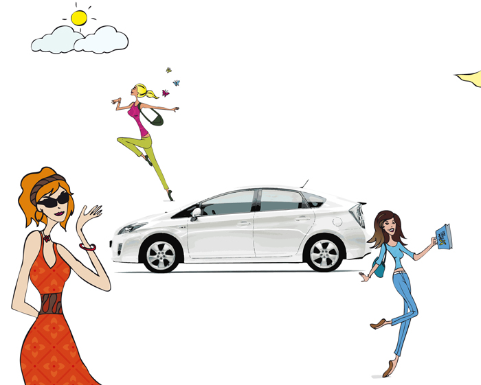 illustration_toyota-yaris personnages