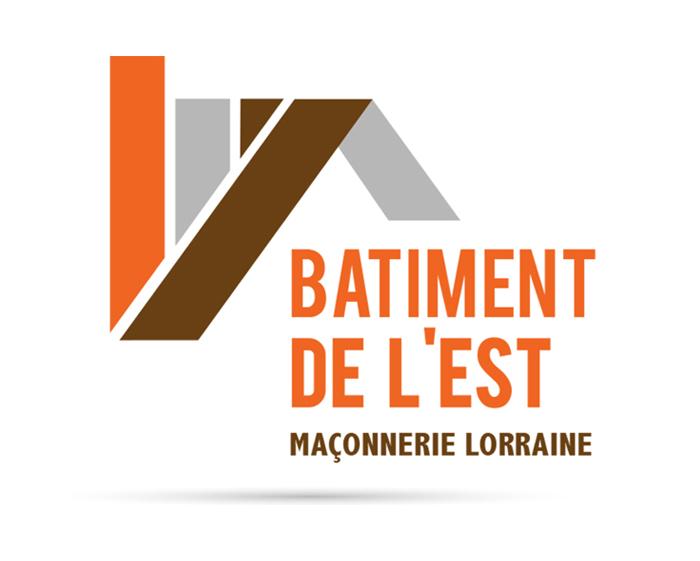 Batiment de l'est Maçonnerie lorraine entreprise du batiment logo maison toiture isolation travaux nancy logo