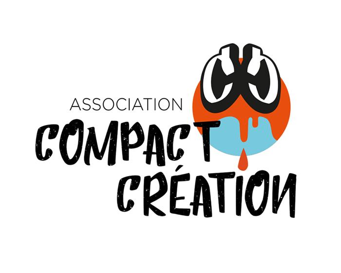 logo compact concept association de graffeurs de rue saint denis CC