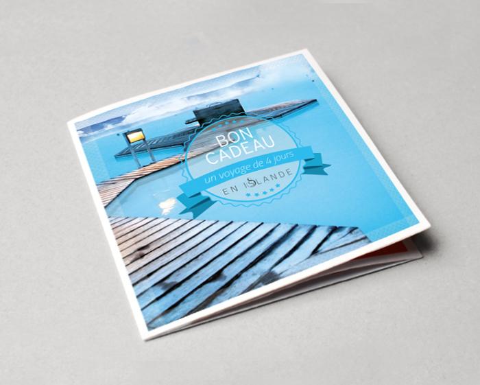 graphikalegria - creation, voyage islande couverture bon cadeau