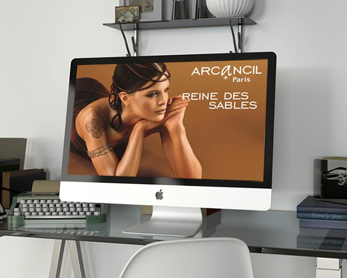 Création du logo Arcancil et des PLV produits
