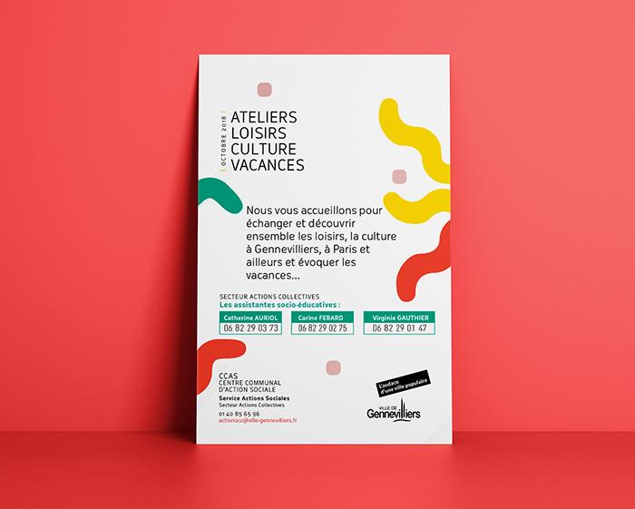 ateliers loisirs - graphisme - saussier -