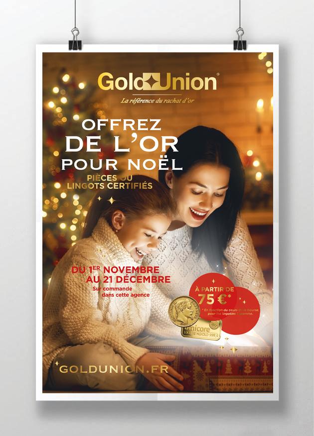 affiche-gold-union-noel-or-lumiere-graphikalegria-offre-lingot-piece